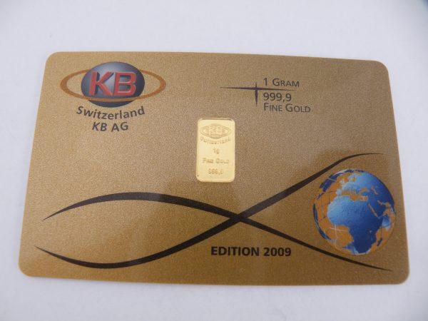 1 gram goudbaar KB