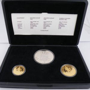 Dukaten set 1992 goud en zilver