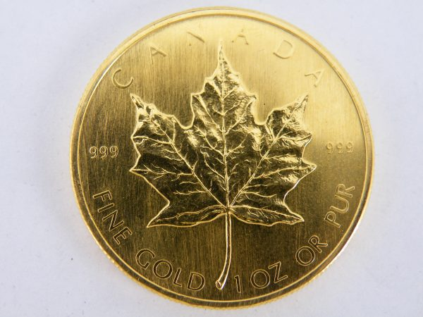 gouden Maple leaf 1980 1 oz