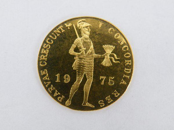 Gouden enkele dukaat 1975
