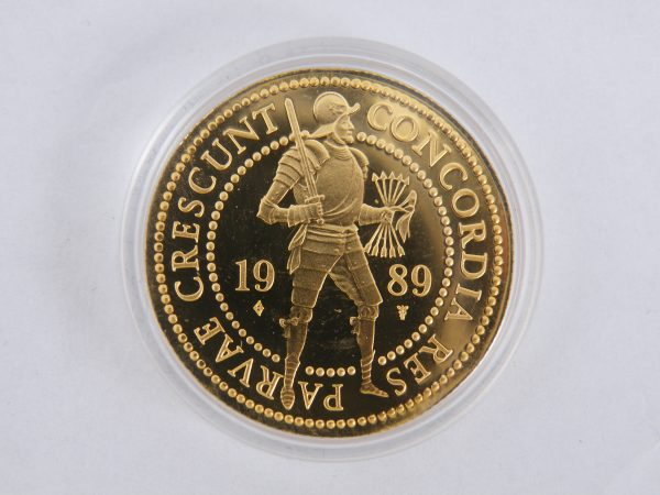 Gouden dubbele dukaat 1989