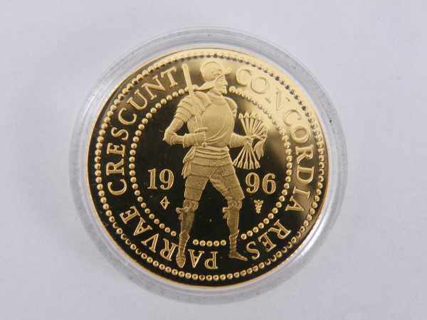 Gouden dubbele dukaat 1996