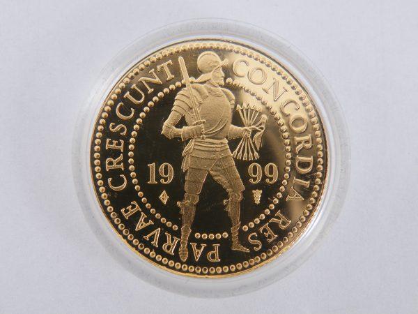 Gouden dubbele dukaat 1999