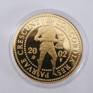 Gouden dubbele dukaat 2002