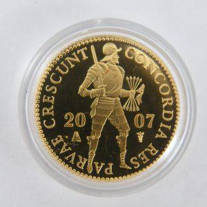 enkele gouden dukaat 2007