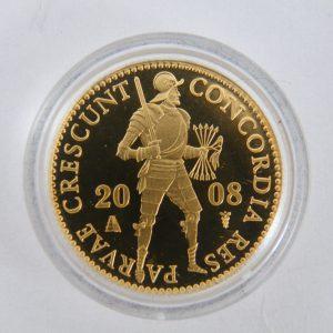 enkele gouden dukaat 2008
