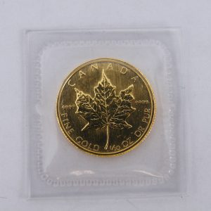 1/10 ounce gouden maple leaf