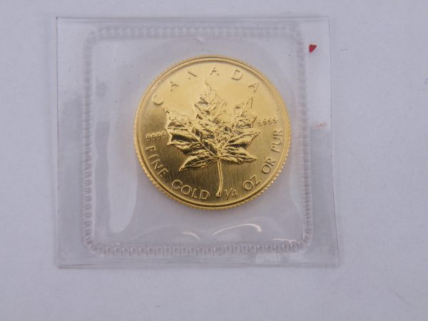 1/4 ounce gouden maple leaf