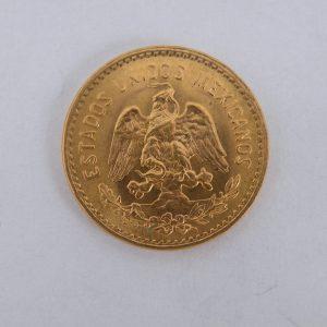 5 Pesos Mexico goud gouden munt