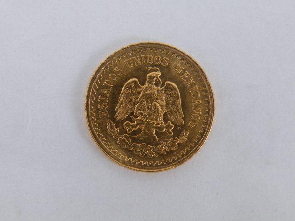 2,5 Pesos Mexico goud gouden munt