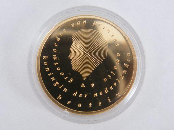 50 euro gouden munt geboortemunt 2003