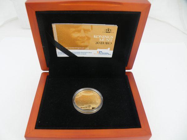 € 20 euro munt goud Koningsmunt