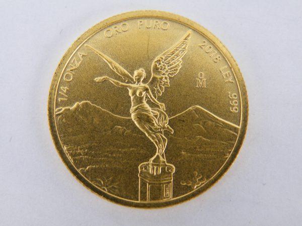 1/4 troy ounce Oz Libertad Mexico goud gouden munt