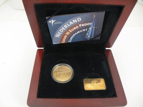 Gouden tientje € 10,- Europa 2004