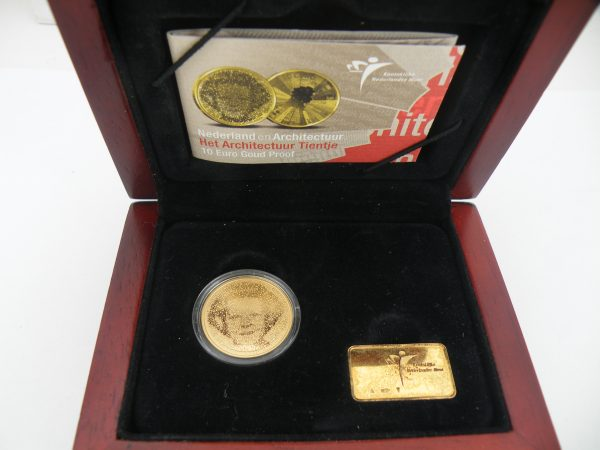 Gouden tientje € 10,- architectuur 2008