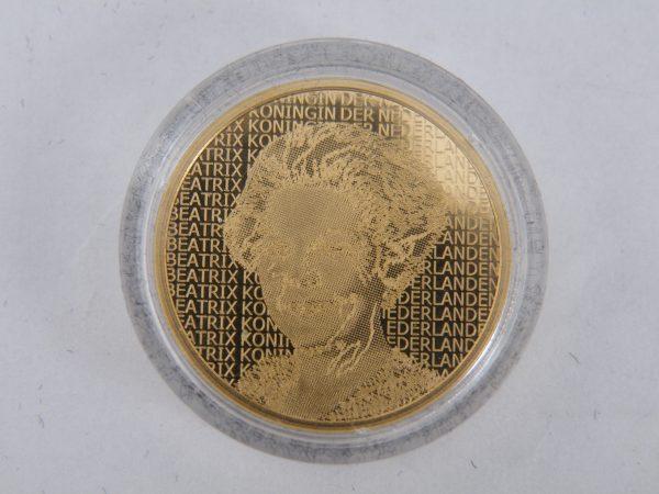 Gouden tientje € 10,- Rembrandt 2006