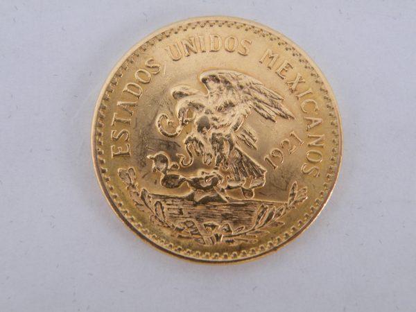 20 Pesos goud Mexico