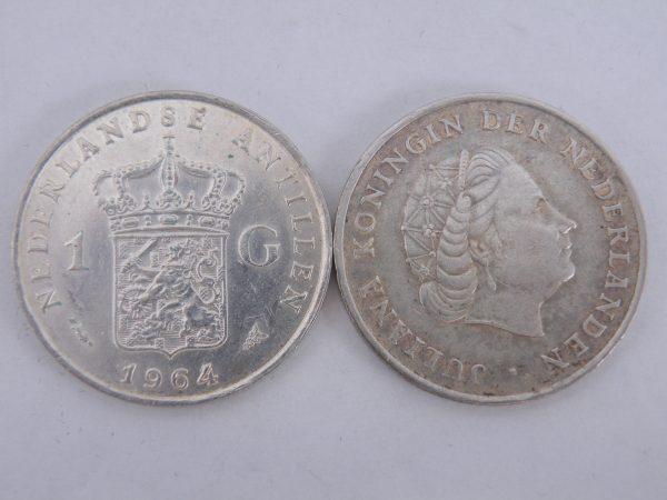 Zilveren gulden Juliana Nederlandse Antillen