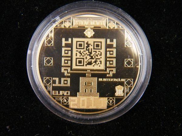 Gouden € 10 tientje 2011 muntgebouw