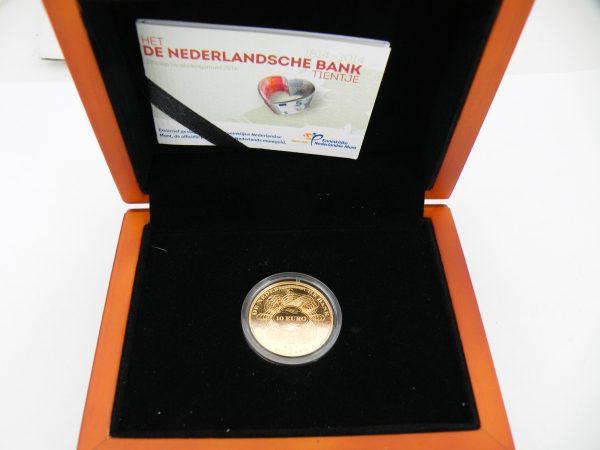 Gouden € 10 tientje 2014 Nederlandse Bank
