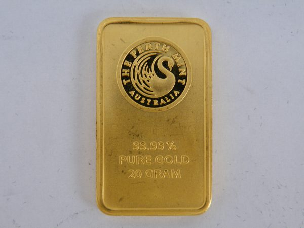 Goudbaar 20 gram Perth Mint