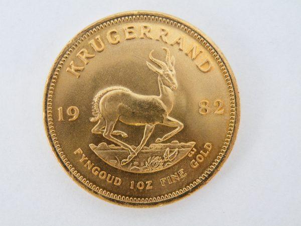 Gouden krugerrand 1982