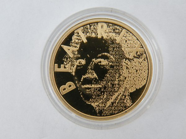 Gouden tientje € 10 van Gogh tientje gouden munt