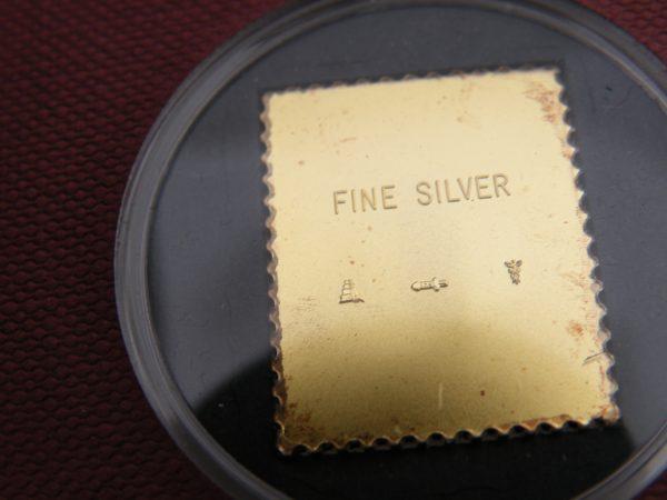 Postzegels in edelmetaal serie zilver