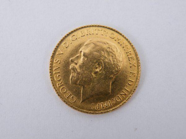 Half sovereign goud halve sovereign