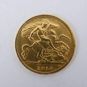 Half sovereign goud halve sovereign