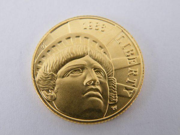 Gouden five dollars $ 5 1986