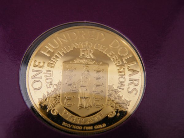 $ 100 Virgin islands gouden munt