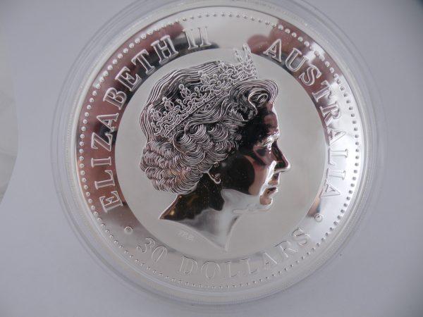 Zilveren kilo Kookaburra 2009