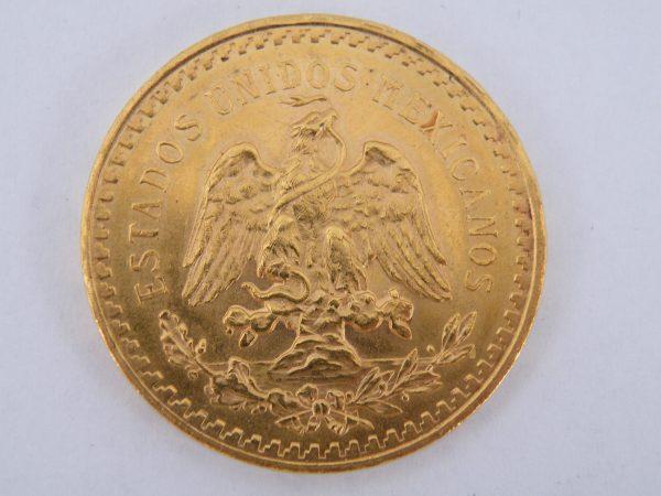 Gouden 50 Pesos Mexico 1943