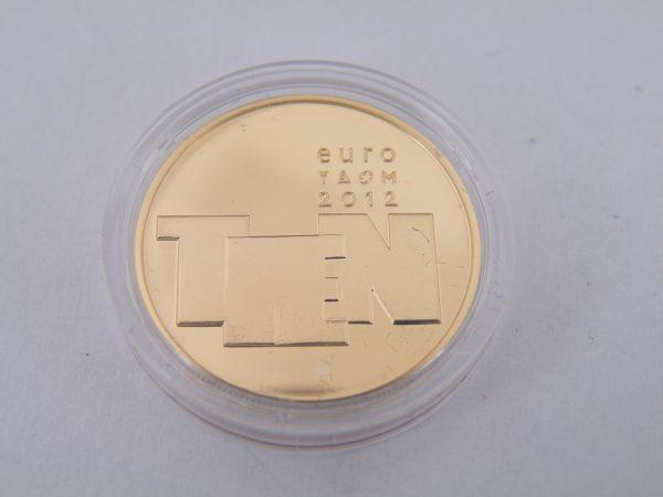 Gouden tientje € 10 beeldhouwkunst 2012