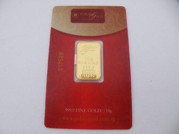 Nadir metal refinery 10 gram goudbaar