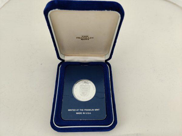 200 Balboa platina munt Franklin Mint